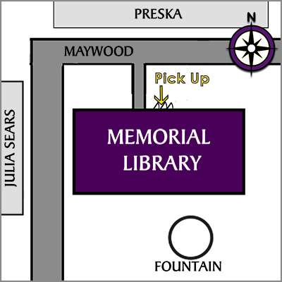 library north pickup map